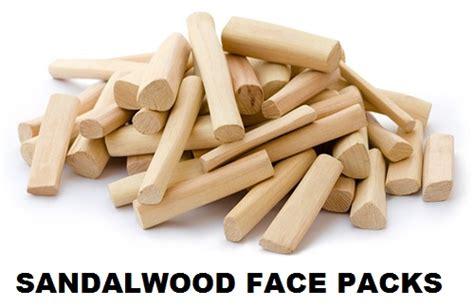 sandal wood pack 6 sandalwood packs for fair and glowing skin