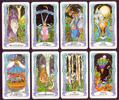 Tarot Of A Moon Garden by Tarot Of A Moon Garden Karte In Knjiga