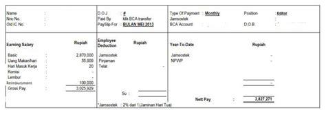 mohon tanggapan sakit 2 hari gaji dipotong rp372 ribu benar begini