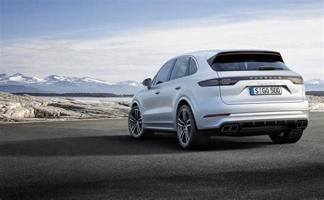 new porsche 2019 2019 porsche cayenne turbo takes familiar route to high