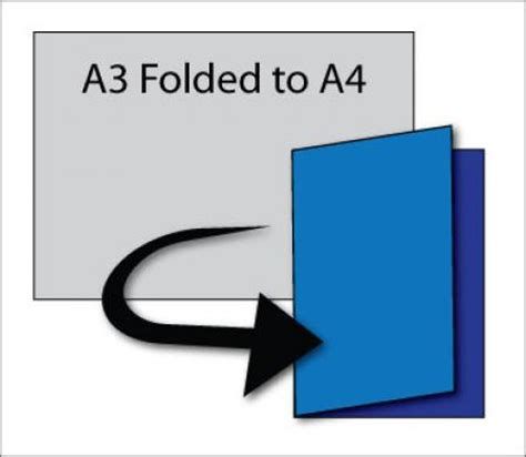 How To Make A3 Paper With A4 - what s the standard size for a printed brochure