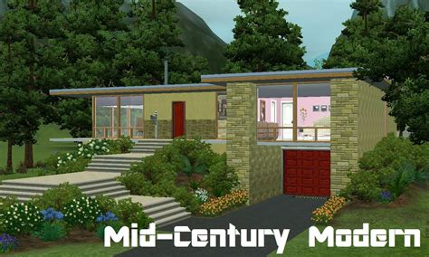 Ultimate Kitchen Floor Plans mod the sims mid century modern