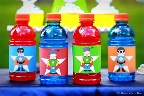 Product Photography A Superhero Party E C Photography Gatorade Label Template