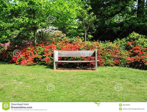 english park bench an english park with bench seat stock photo image 25073640