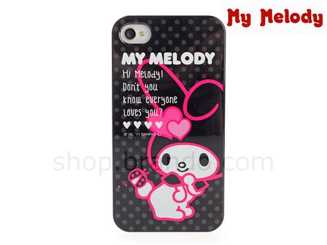 Bumper Melody For Iphone 4 4s by Iphone 4 4s My Melody Dots Back Limited Edition