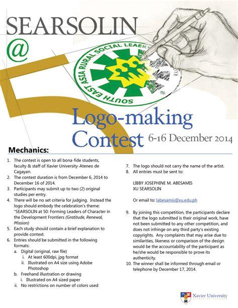 logo design contest mechanics logo design contest mechanics xavier university searsolin