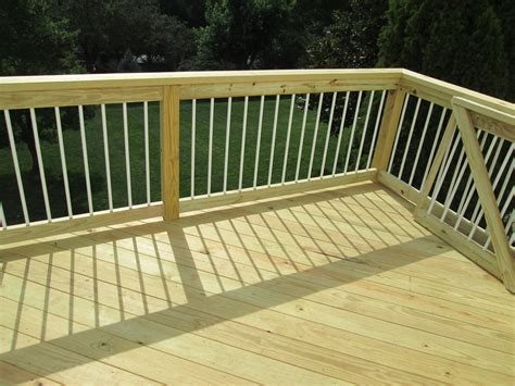 Simple Wood Deck Designs Home Design Ideas Elements And