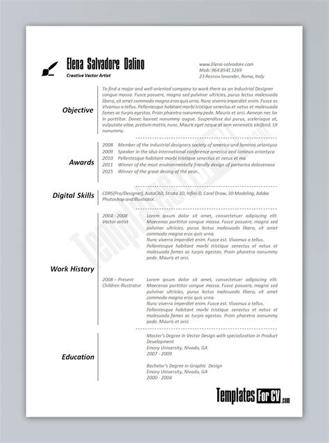 cv template uk word doc templates resume exles
