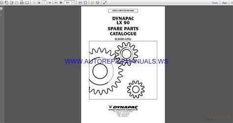 dynapac slx en spare parts catalogue auto repair