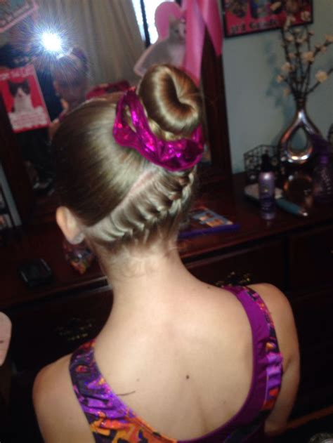 easy updos for gymnastics easy gymnastics meet hairstyles newhairstylesformen2014 com
