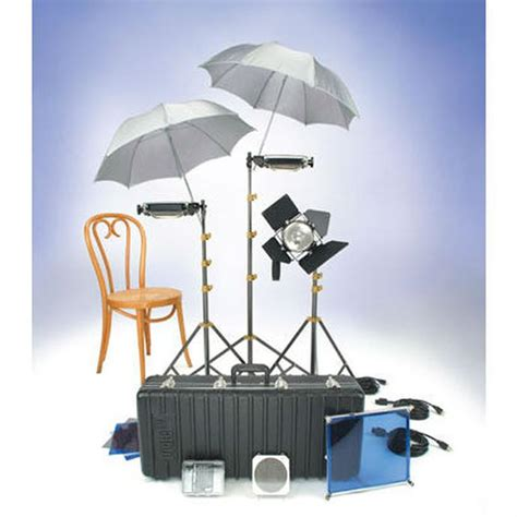 lowel uni to light stand rental lowel lighting kit with 3 tota lights 1 omni light