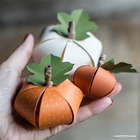 Pumpkin Papercraft - simple crafts that ll put your all hallows