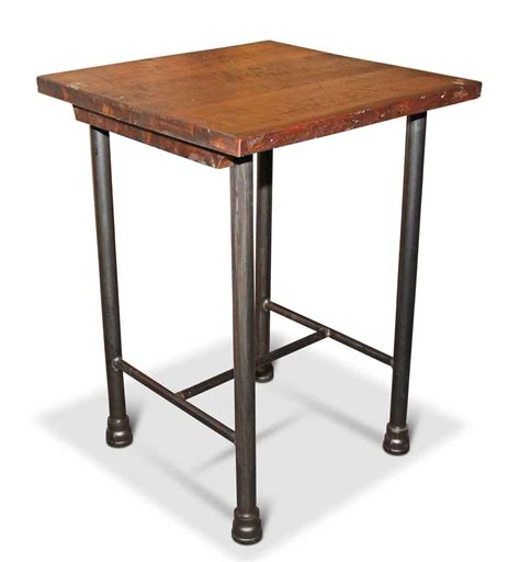 square island kitchen square kitchen island or tall side table olde good things