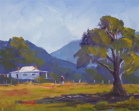 Landscape Paintings Australia Australian Landscape Paintings Australian Artist Rod