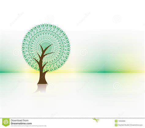 Green Eco Tree Stock Vector Illustration Of Life Background 13009085 Green Eco Tree Vector Free
