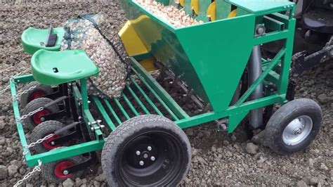 Garlic Planter For Sale by Garmach 4 Row Automatic Garlic Planter Tractor Mounted