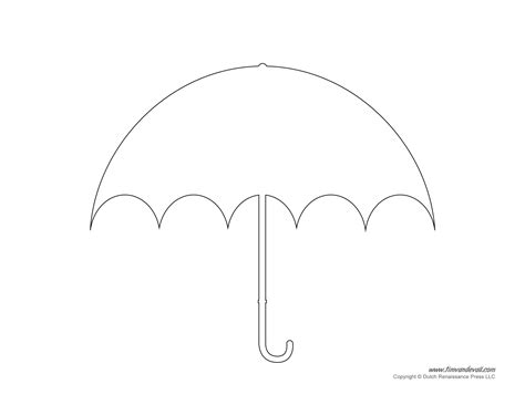 umbrella template printables umbrella decorations