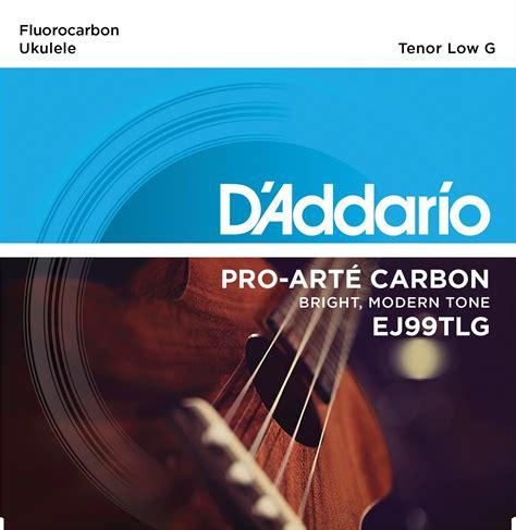 Pro Arte Strings - d addario ej99tlg pro 233 carbon ukulele