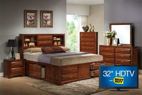 gardner white bedroom furniture roswell bedroom set with 32 quot tv