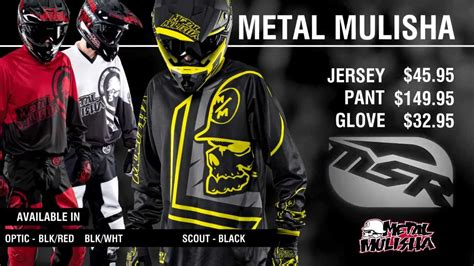 metal mulisha motocross gear 2014 msr metal mulisha gear youtube