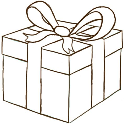 christmas drawing step by step and gift to gift cartoon how to draw a wrapped gift or present with ribbon and bow how to draw step by step drawing