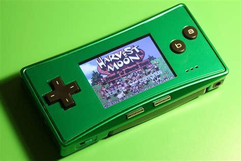 gameboy micro mod gbc game boy micro green ebay