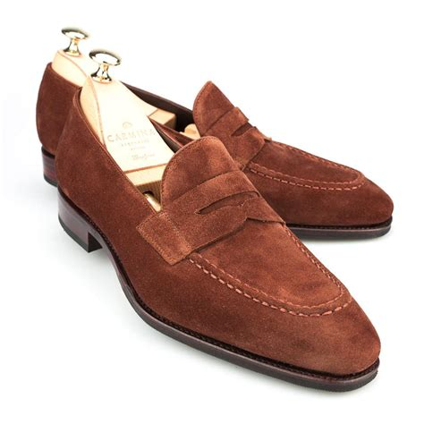 Suade Polos 5 loafers in polo suede carmina