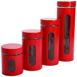 kitchen canisters flour sugar 4 piece kitchen canister set copper jars coffee sugar flour tea cookie metal new what s it worth