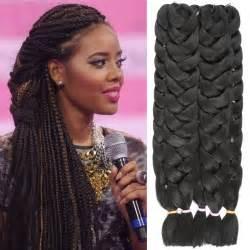 kanekolan hair black white grey 1 piece kanekalon jumbo braiding hair colors 82 165g