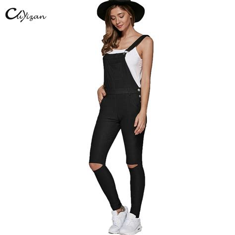 Overall Black T3009 3 black denim jumpsuit clothing