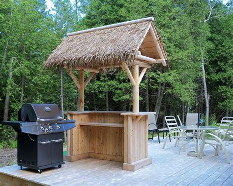 backyard bar plans outdoor tiki bar the southern fantasy tiki bar is
