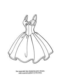 printable coloring pages gt design clothes gt 32836 design clothes coloring pages 1