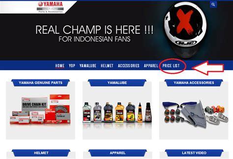 Spare Part Di Dealer Yamaha aripitstop 187 cara cek harga spare part agar tidak merasa