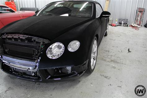 velvet bentley wrap of the day black velvet bentley gtc