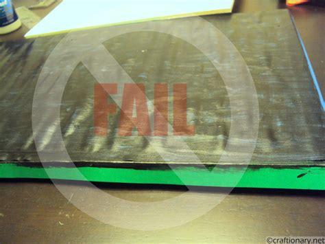 diy chalkboard foam board craftionary