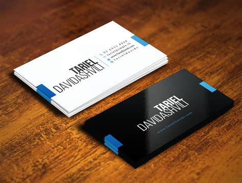 business card templates for freelancers personal business card template business