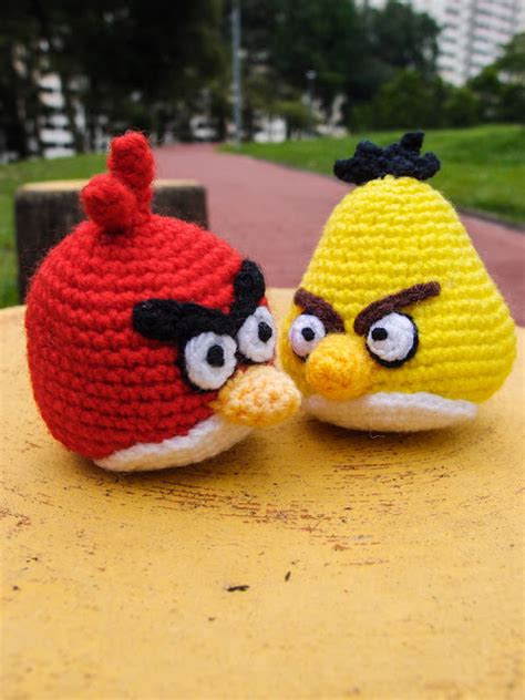 free pattern amigurumi angry birds yellow angry bird amigurumi snacksies handicraft corner