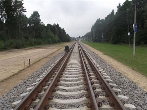 The Rails Section Of Rail Baltica Inaugurated Railway Gazette