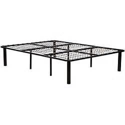 Bed Frames Convert King Black Steel King Size Mattress Bed Frame 11343754