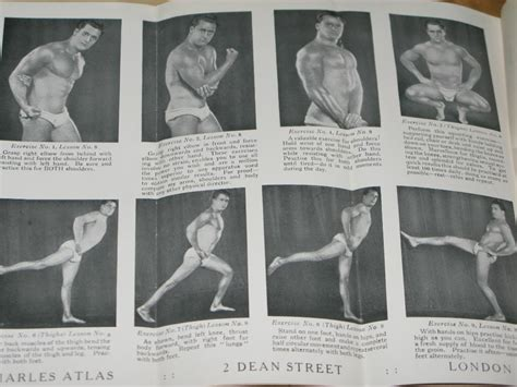 charles atlas dynamic tension exercises