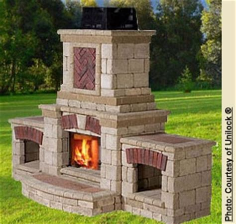 Pre Made Outdoor Fireplace 1000 images about patio ideas on outdoor