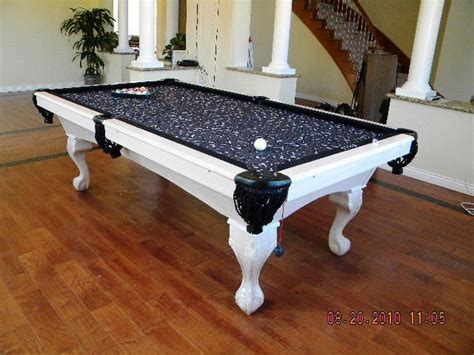 black and white pool table for the home pinterest