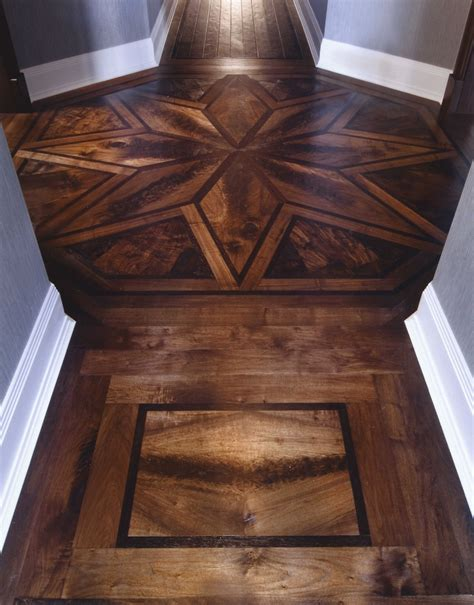 woodworking inlay patterns 1000 images about hardwood flooring ideas on