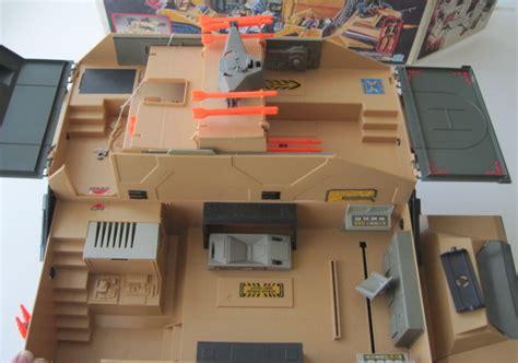 gi joe mobile command center gi joe 1987 mobile command center boxed