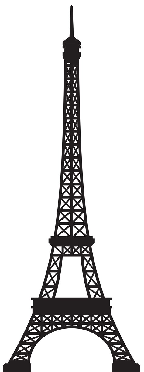 eiffel tower clipart gray clipart eiffel tower pencil and in color gray