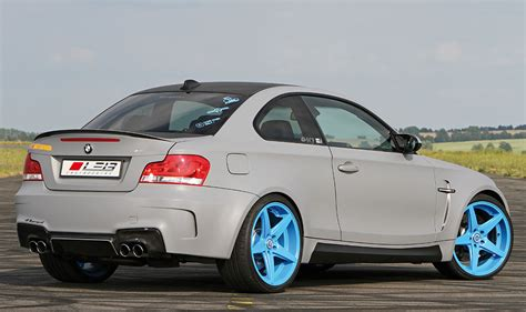 Bmw 1er Hellblau by Leib Engineering Bmw 1 Series M Coupe Is Blue Wheeled