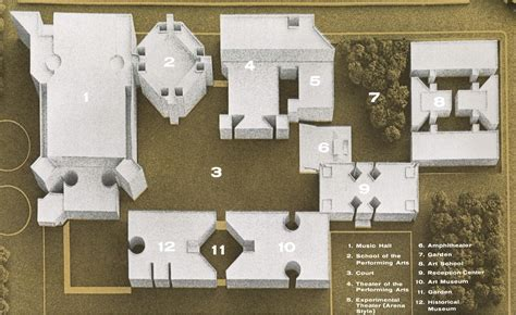 Yale University Art Gallery Floor Plan Louis Kahn Architect Architecture Design E Architect