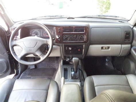 mitsubishi pajero 2000 interior mitsubishi montero 2002 interior image 112