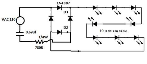 lada tubular led capacitor para ligar led 28 images circuito para l 226
