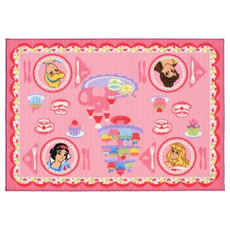 disney rugs disney princess tea interactive rug
